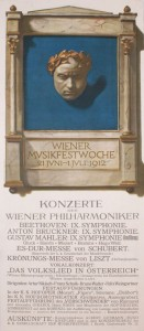 Commercial work: Poster for the Wiener Musikfestwoche 9048