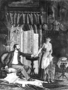 Genre Picture: The Master and his Parlourmaid 111173
