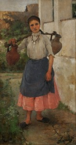 Genre Picture: The Water-carrier Girl 9881
